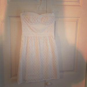 White American Eagle Dress